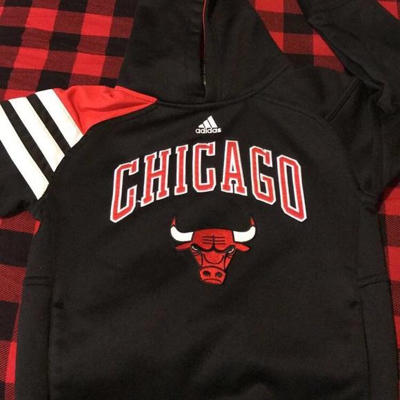 adidas Other - Adidas Chicago Bulls hoodie Sz 7T caa833767f84